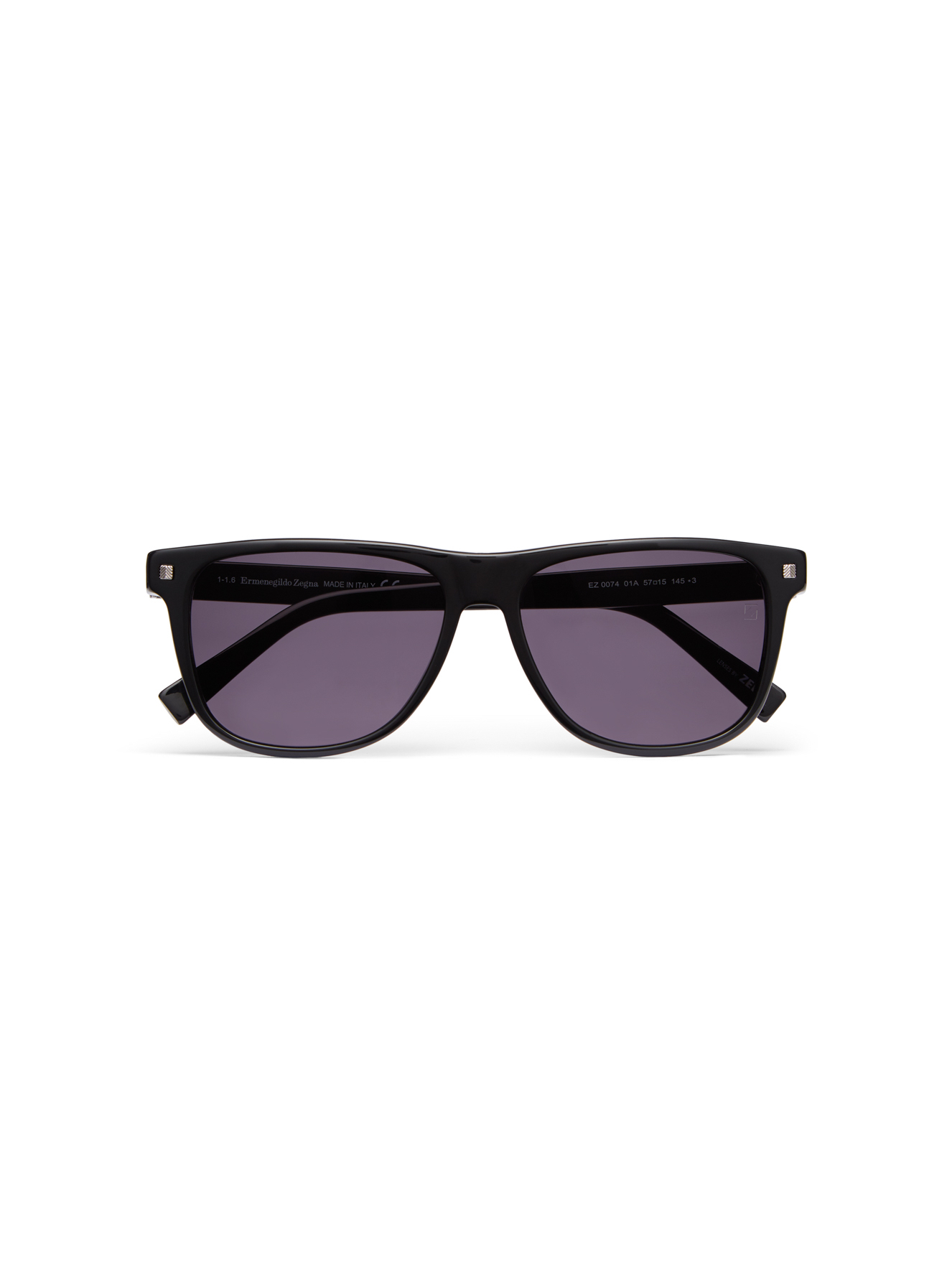 Black Square Wayfarer Sunglasses £165