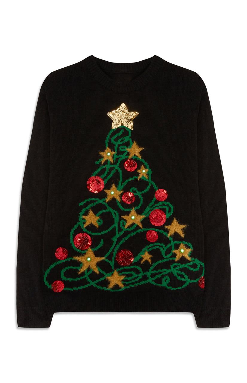 Primark Christmas Tree Light Up Jumper