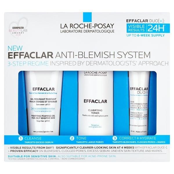 La Roche-Posay Effaclar 3-Step Anti-Blemish Kit £19.99