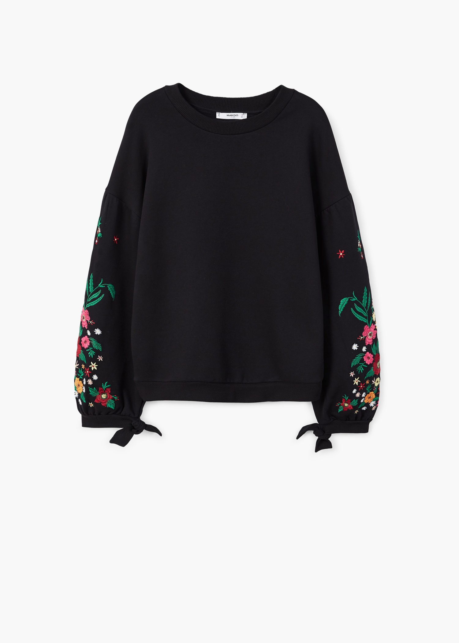 Floral Embroidered Sweatshirt £35.99