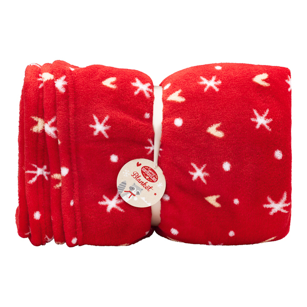 Snuggles Heart And Star Blanket Snuggles Heart and Star Xmas Blanket £7