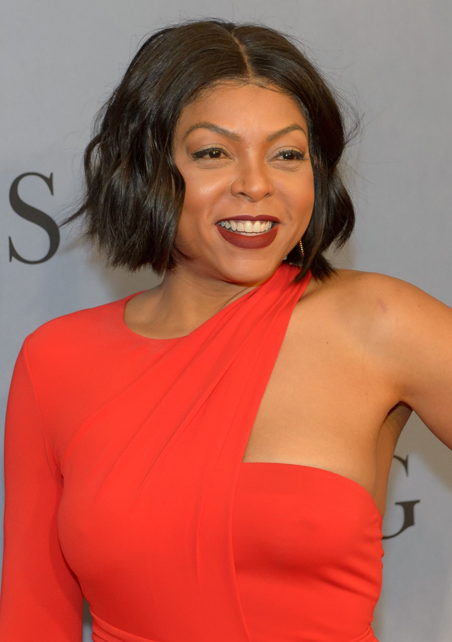 "American actress and singer Taraji P. Henson arrives on the red carpet for the global celebration of the film ""Hidden Figures"" at the SVA Theatre, Saturday, Dec. 10, 2016 in New York. The film is based on the book of the same title, by Margot Lee Shetterly, and chronicles the lives of Katherine Johnson, Dorothy Vaughan and Mary Jackson -- African-American women working at NASA as ""human computers,"" who were critical to the success of John Glenn's Friendship 7 mission in 1962. Photo Credit: (NASA/Bill Ingalls)"