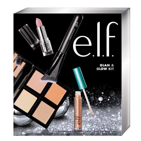 E.l.f Glam and Glow Face Makeup Holiday kit £12