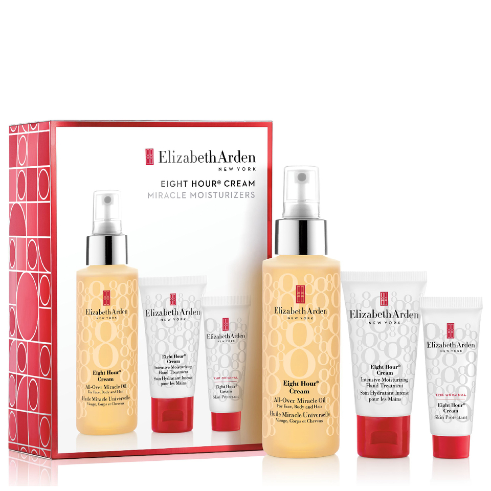 Elizabeth Arden Eight Hour Cream All Over Miracle Oil Set £24