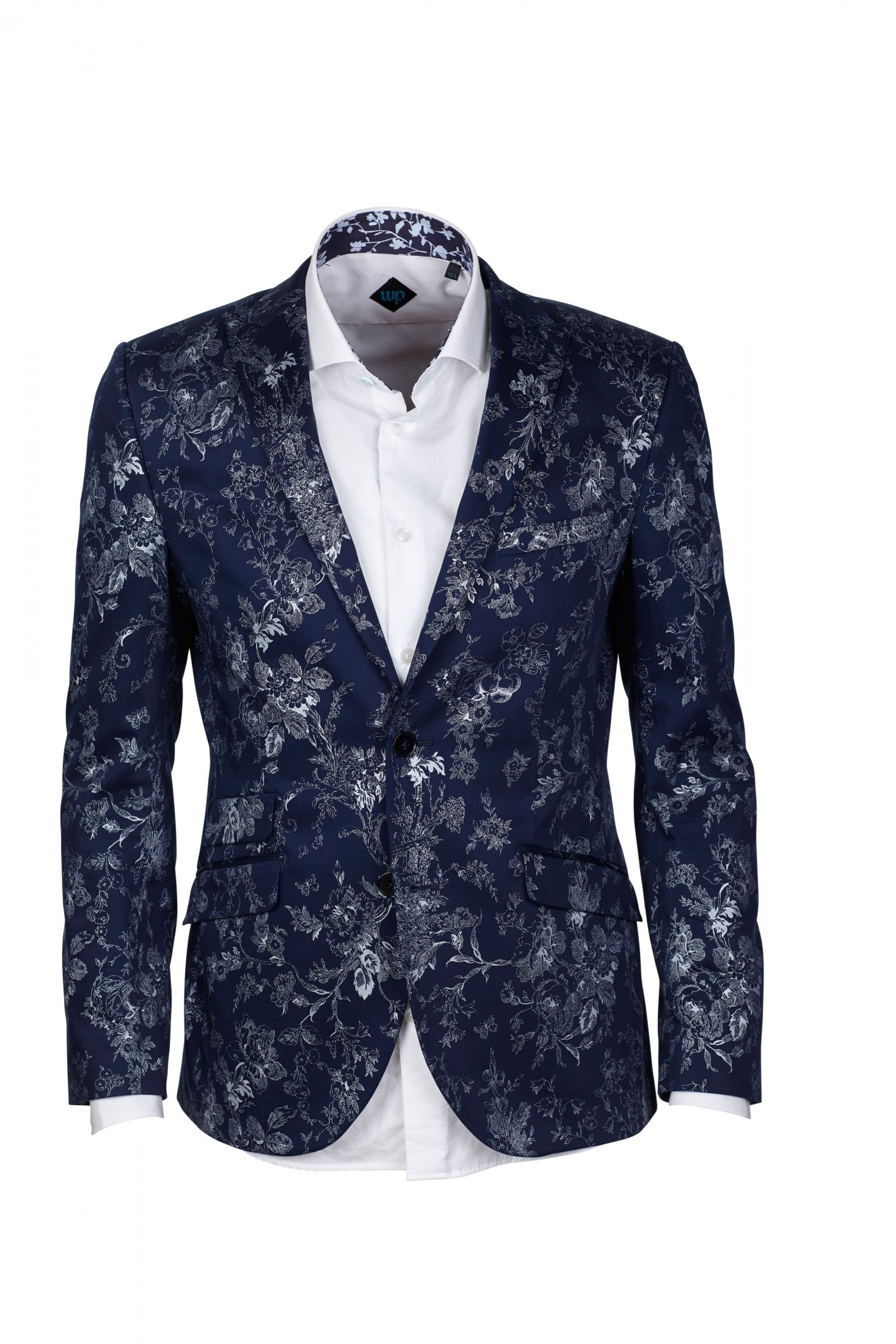 WP Diego Cotton Floral Print Jacket £79.50