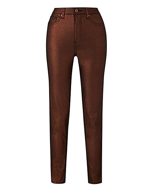 Saskia Glitter Shimmer Super Slim Leg Jeans £30