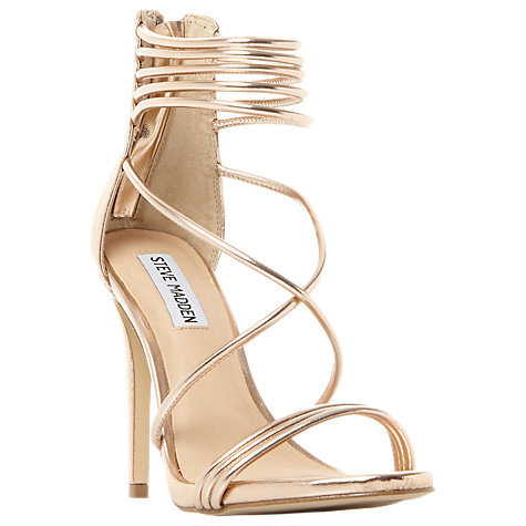Steve Madden Answer Multi Strap Stiletto Heeled Sandals £56