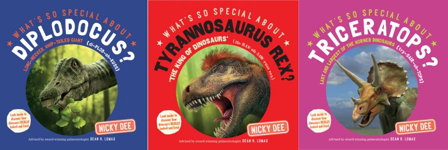 What's so Special about Dinosaurs?' - Series of children's books