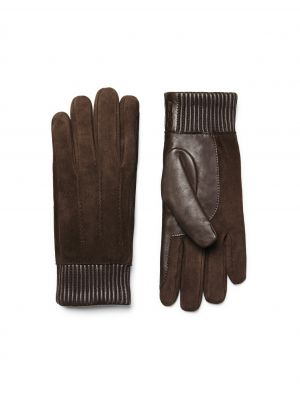 Lamb Nappa and Suede Gloves