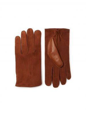 Vicuna Lamb Suede Gloves £375