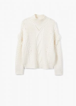 Fringes Cable-knit sweater £35.99