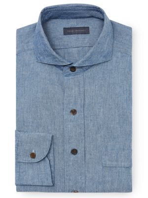 Chambray shirt by Thom Sweeney