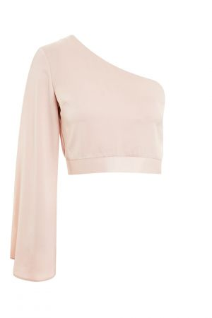 Satin One Shoulder Blouse £12