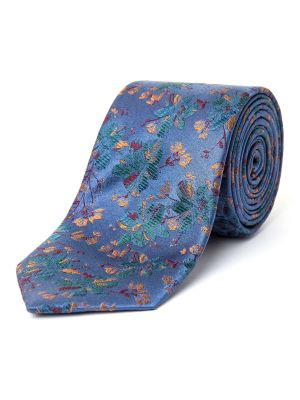 Paul Costelloe Forfolk Autumn Floral Silk Tie £28