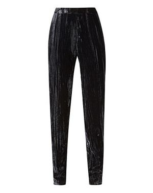 Crushed Velour Tapered Trousers £50