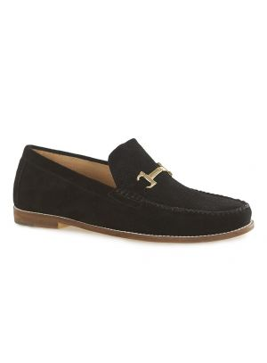 Black Suede Snaffle Loafers £44