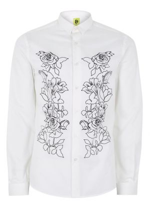 Noose & Monkey White 'Bay Rose' Shirt £38