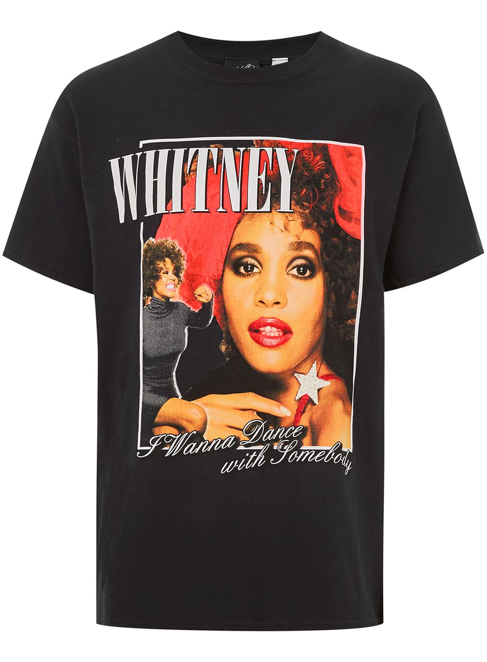 Black Whitney Houston T-Shirt £16