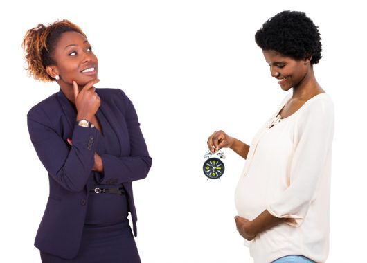 Women contemplating pregnancy and her biological clock - when to conceive?