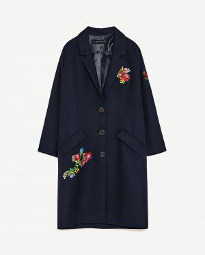 Zara Patch coat