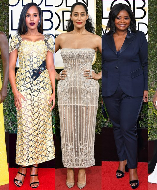 Dress like a movie star: Fashion looks inspired by the 2017 Golden Globes