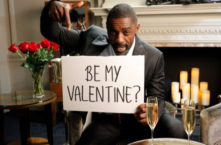 Idris Elba: Idris Elba wants you to be his Valentine! Find out how in Melan Magazine