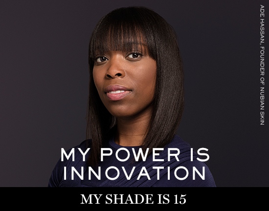 ADE-HASSAN Lancôme launches new campaign: My shade, my power