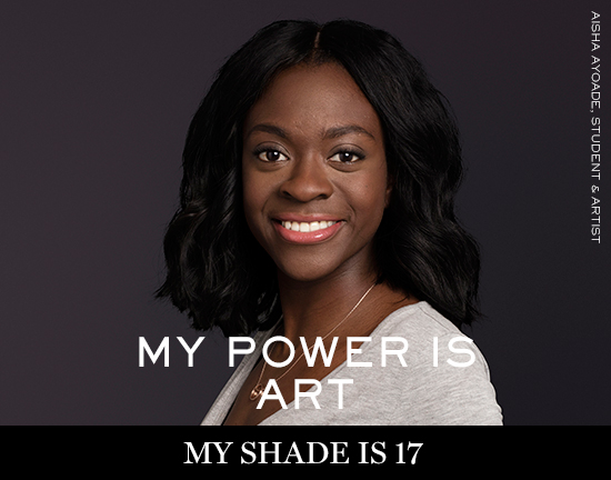 AISHA-AYOADE Lancôme launches new campaign: My shade, my power