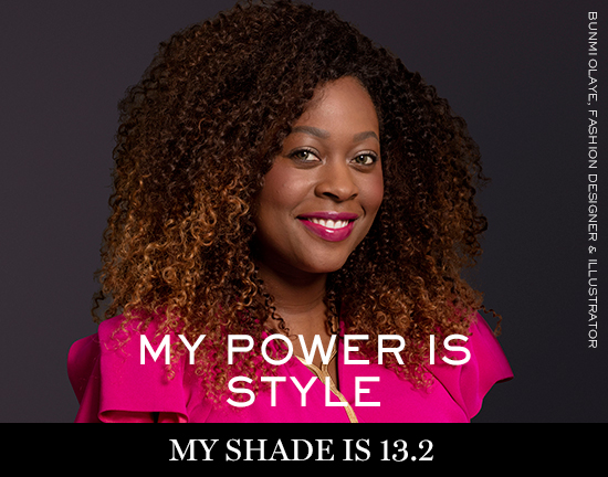 BUNMI-OLAYE Lancôme launches new campaign: My shade, my power