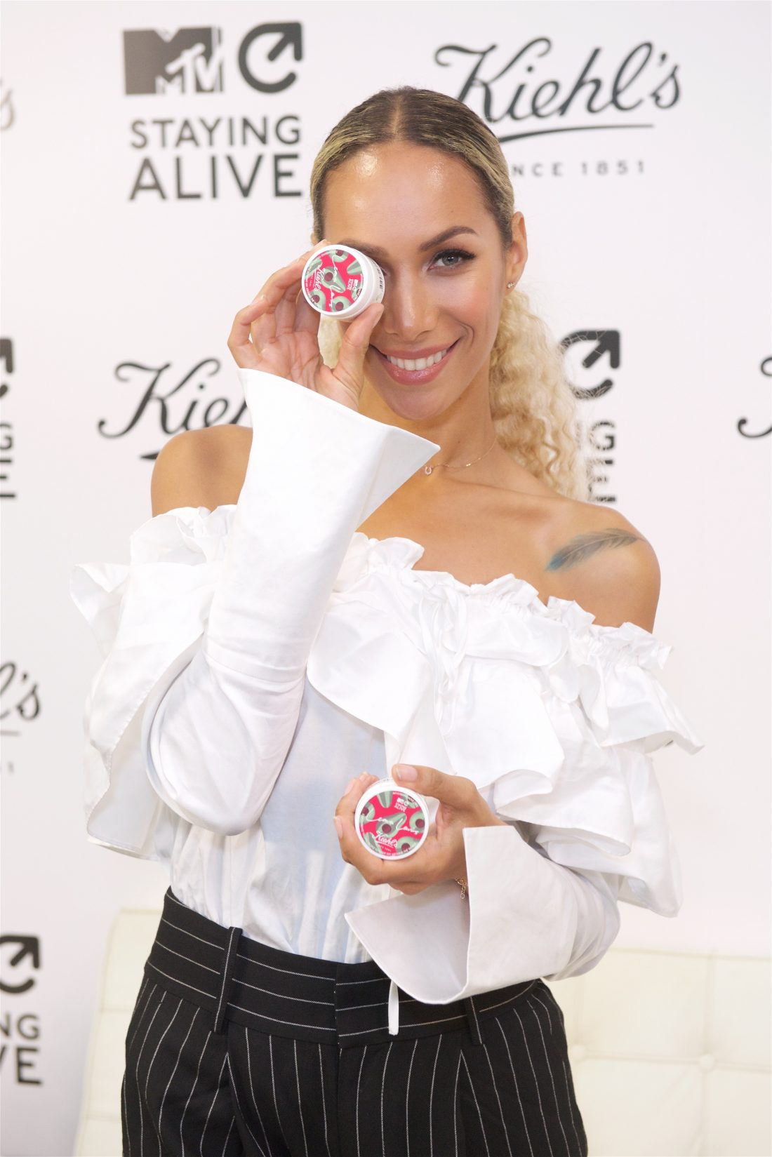 Leona Lewis joins MTV Staying Alive and Kiehl's in the fight against HIV/AIDS