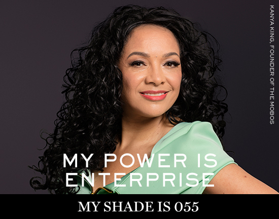 KANYA-KING Lancôme launches new campaign: My shade, my power
