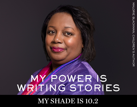 MALORIE-BLACKMAN Lancôme launches new campaign: My shade, my power