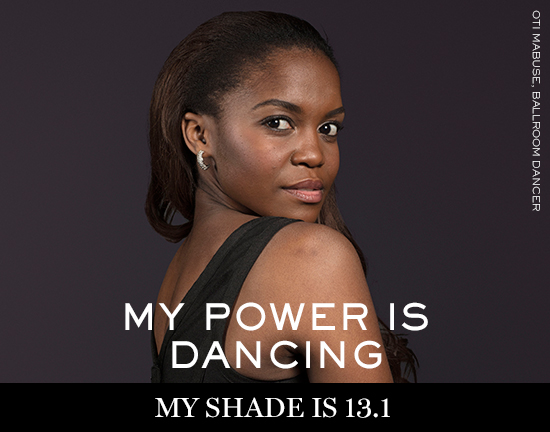 OTI-MABUSE Lancôme launches new campaign: My shade, my power