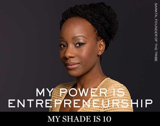 SAMATA Lancôme launches new campaign: My shade, my power
