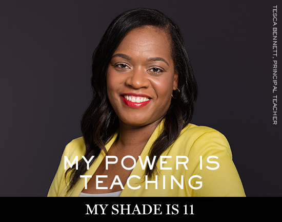 TESCA-BENNETT Lancôme launches new campaign: My shade, my power