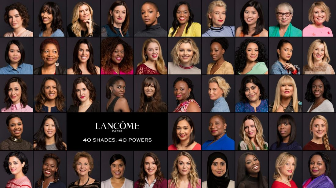 Lancôme launches new campaign: My shade, my power