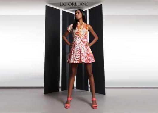 MelanMag.com: Eki Orleans: the silk-based African print couturier