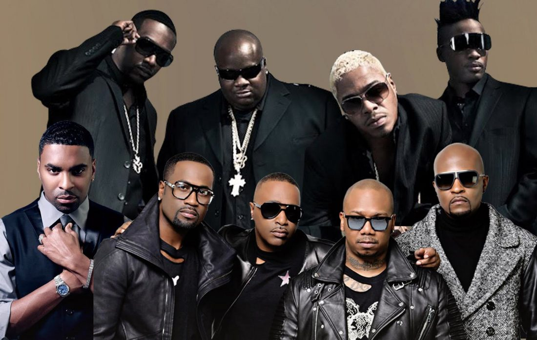Kings of R&B head to London this October - Ginuwine, 112, Dru Hill - high res