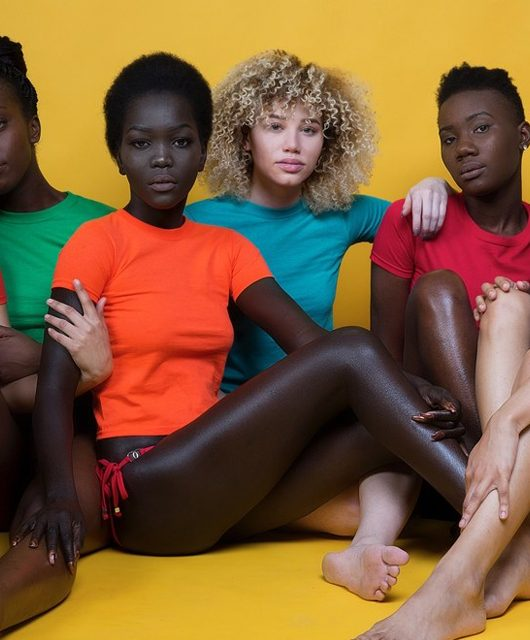 Celebrating skin tones or a statement on colourism?