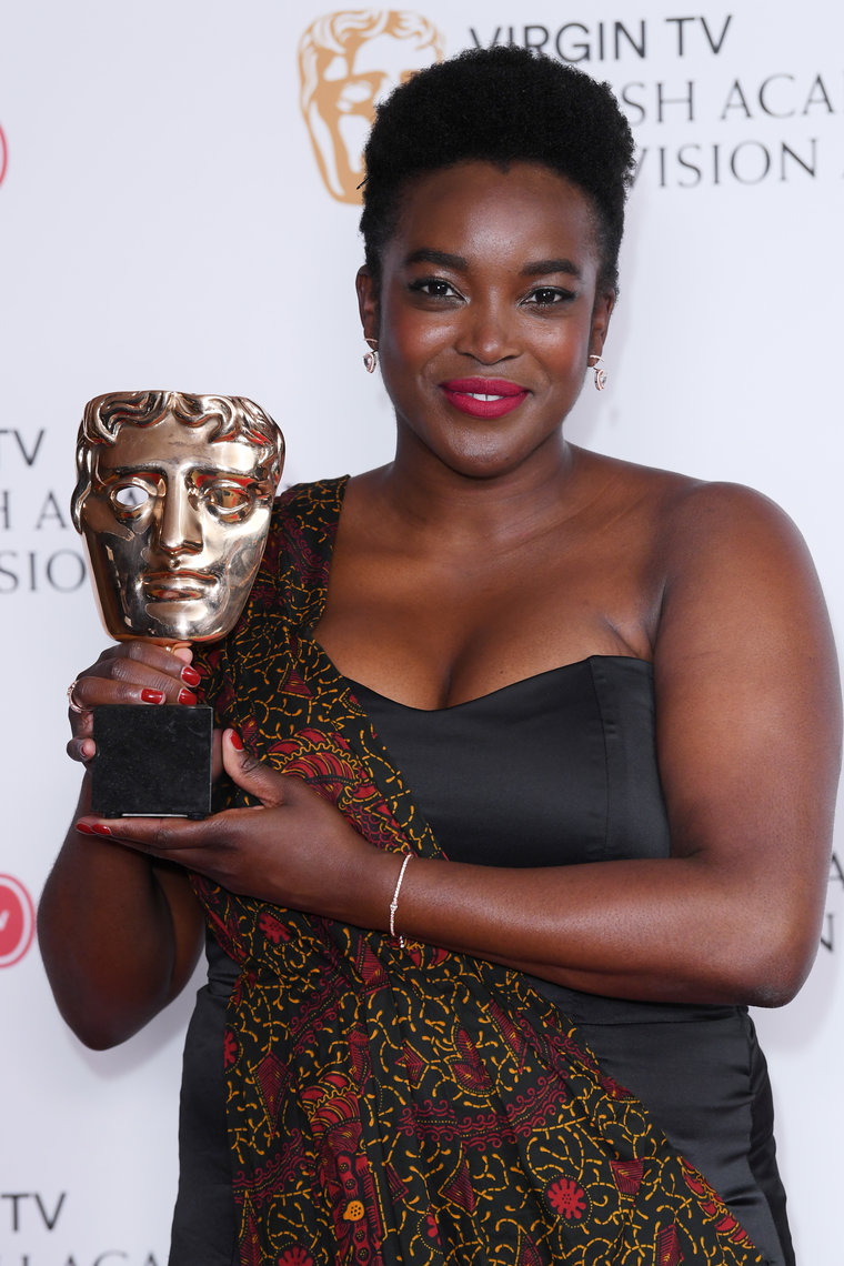 A big night for Wunmi Mosaku as she scoops best supporting actress at the BAFTA TV awards 2017