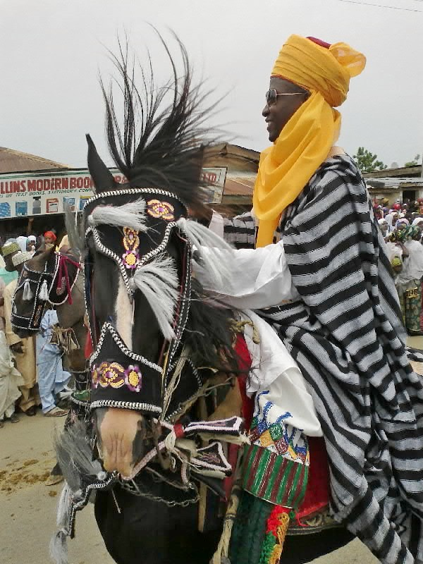 Ramadan: Traditional northern Nigeria horseman
