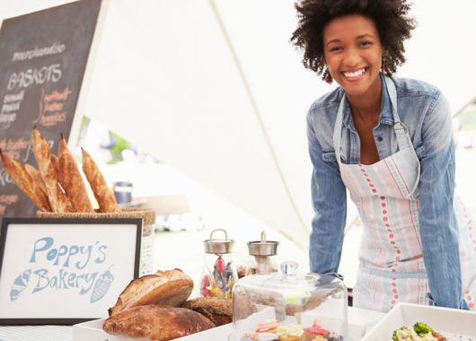 42131685 - female bakery stall holder at farmers fresh food market Do you have the traits to be a successful entrepreneur?