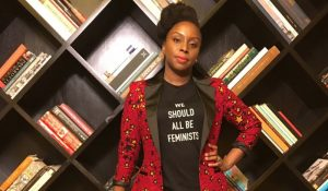 Chimamanda championing the 'Wear Nigerian' movement