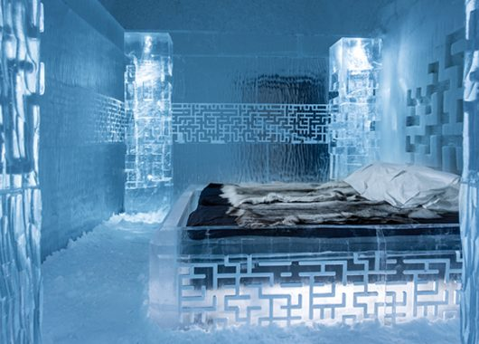 Looking for a different kind of break? Try the ICEHOTEL 365