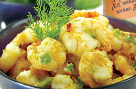 Dish of the week: Chilli Tiger Prawns