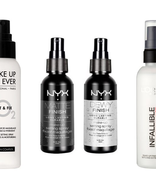 6 must-have makeup setting sprays to get you through the summer