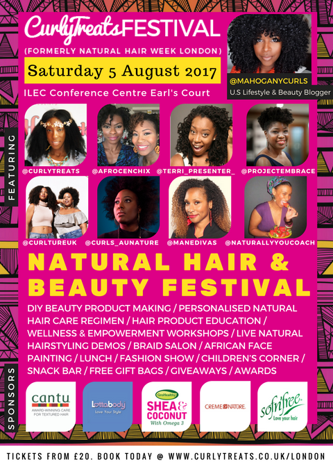 CurlyTreats Festival: the biggest natural hair event is coming to town
