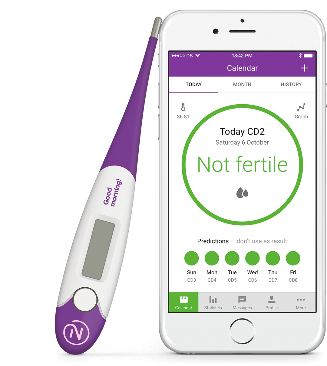 Looking for birth control? There's an app for that! Natural Cycles
