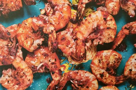 Dish of the week: Hibiscus and Sumac Prawns