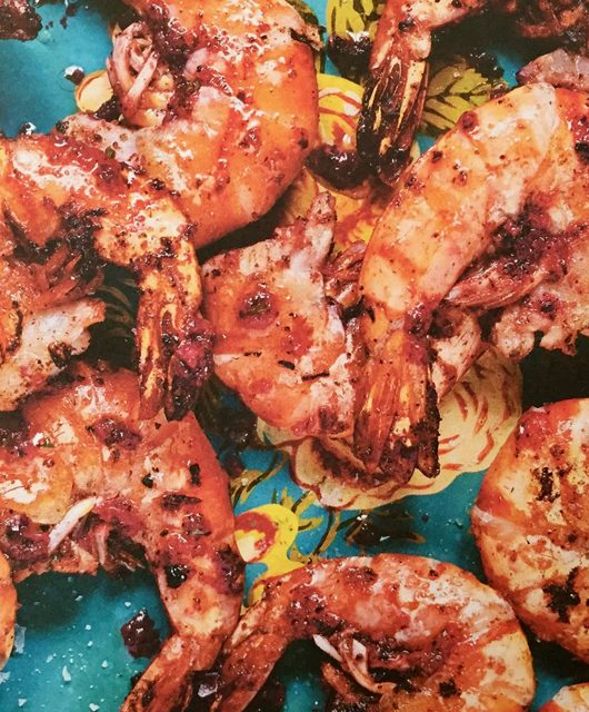 Dish of the week: Hibiscus and Sumac Prawns